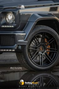 Strasse Wheels Rolling Stock Mercedes G63 Brabus G800 2 190x285 Brabus G800 Mercedes Benz mit Strasse Wheels Alu´s