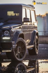 Strasse Wheels Rolling Stock Mercedes G63 Brabus G800 4 190x285 Brabus G800 Mercedes Benz mit Strasse Wheels Alu´s
