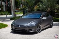 Tesla Model S P85 On HRE RS100 By HRE Wheels 3 190x127 22 Zoll HRE RS100 Alufelgen am Tesla Model S P85