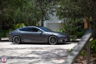 Tesla Model S P85 On HRE RS100 By HRE Wheels 4 190x127 22 Zoll HRE RS100 Alufelgen am Tesla Model S P85