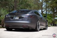 Tesla Model S P85 On HRE RS100 By HRE Wheels 6 190x127 22 Zoll HRE RS100 Alufelgen am Tesla Model S P85