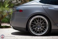 Tesla Model S P85 On HRE RS100 By HRE Wheels 7 190x127 22 Zoll HRE RS100 Alufelgen am Tesla Model S P85