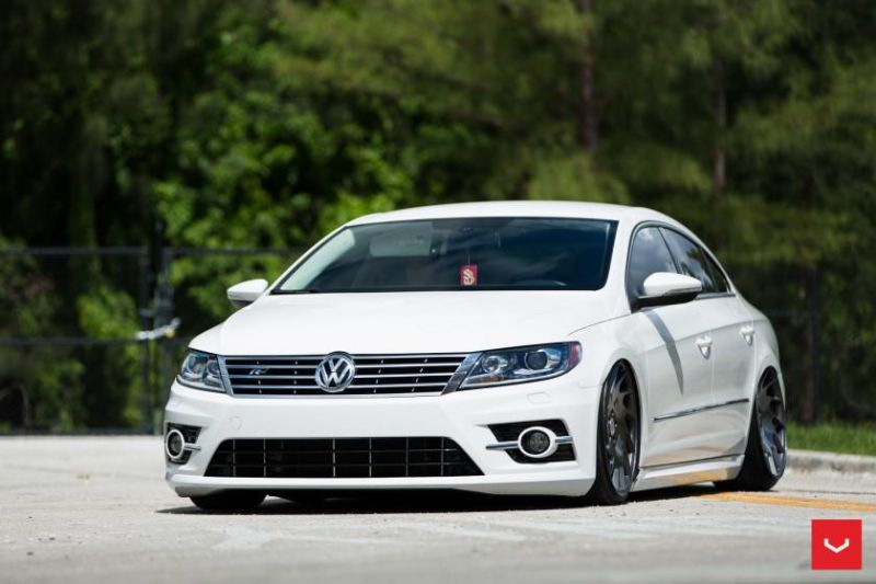 VW CC R Line Vossen VLE 1 Limited Edition Wheels 1 20 Zöller Vossen Wheels VLE 1 am VW Passat CC R Line