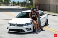 VW CC R Line Vossen VLE 1 Limited Edition Wheels 9 190x127 20 Zöller Vossen Wheels VLE 1 am VW Passat CC R Line