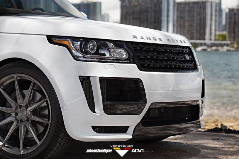 Vorsteiner Range Rover WB tuning 2 Adv.1 Wheels ADV10 am Range Rover von Wheels Boutique