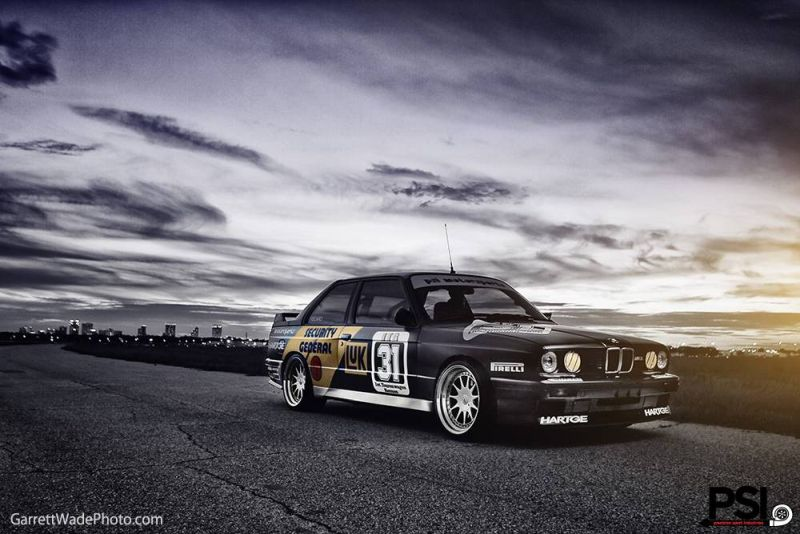 Matt Black Bmw E30 M3 Dtm Replica Of Psi Tuning