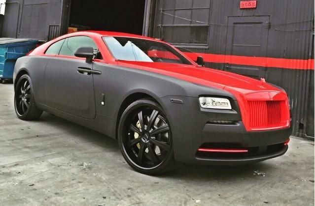 do you like chris browns rolls royce wraiths 1 Rolls Royce Wraith von Chris Brown fertiggestellt