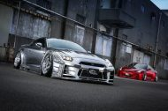 kuhl racing widebody nissan gt r coming to sema o gallery 9 190x126 Kuhlracing versilbert den Nissan GT R mit Widebody Kit