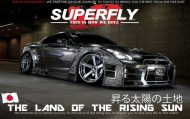 nissan gt r with engraved silver body by 5 190x119 Kuhlracing versilbert den Nissan GT R mit Widebody Kit