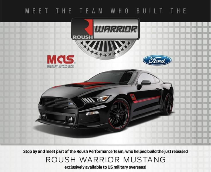 roush mustang military edition 1 Roush Warrior T/C Ford Mustang Military Special Edition