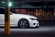 stance sc6 bmw f30 white 4 190x127 Stance Wheels SC6 in Grau am weißen BMW F30 335i