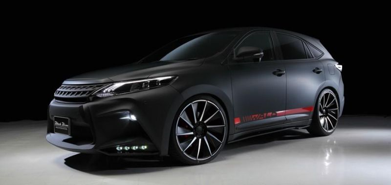toyota-harrier-by-wald-international-has-the-black-bison-12