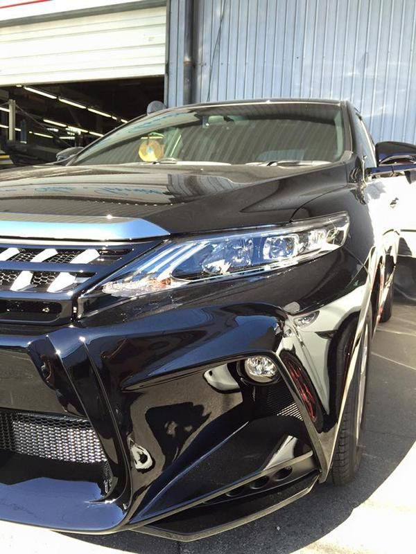toyota-harrier-by-wald-international-has-the-black-bison-5