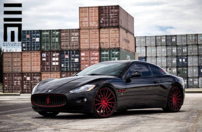 11794432 998401216889979 5810314689410685241 o Exclusive Motoring   Tuning Maserati GranTurismo by Vossen