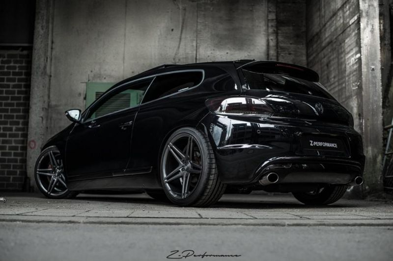 vw scirocco mit 20 zoll z performance wheels zp4 1. Black Bedroom Furniture Sets. Home Design Ideas