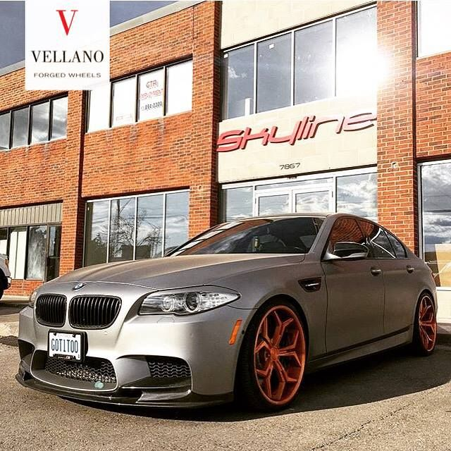 11825207 976899092352837 5202060093294331752 n VCX Vellano Forged Wheels am BMW M5 F10 in Mattgrau