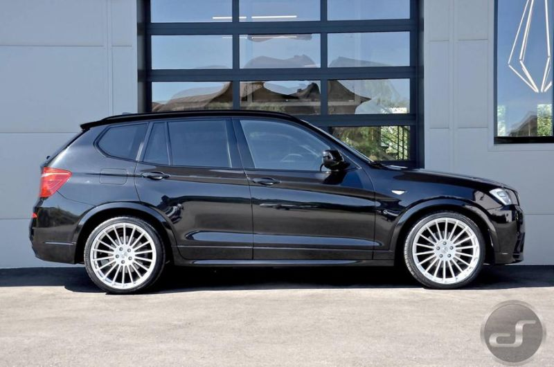 hamann parts am bmw x3 f25 by ds tuning. Black Bedroom Furniture Sets. Home Design Ideas