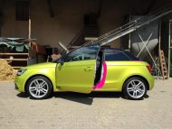 11856470 874802445906933 6918787219993997612 o 190x143 Crazy Farbkombi   Audi A1 in Yellow Flash & Candy Pink