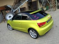 11875194 874802252573619 6126503204907812550 o 190x143 Crazy Farbkombi   Audi A1 in Yellow Flash & Candy Pink