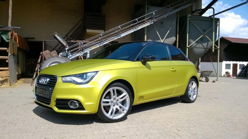 11879165 874801619240349 8785422799625766761 o Crazy Farbkombi   Audi A1 in Yellow Flash & Candy Pink