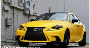 11884597 876490155721322 8150142568808688145 o 310x165 Lexus IS 250 in Knallgelb und Schwarz by Metro Wrapz