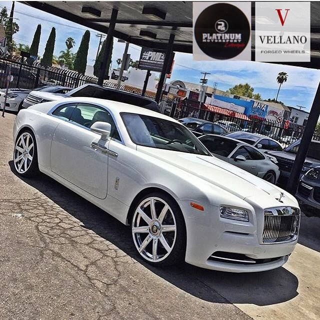 11885102 982887078420705 708535744969419150 n Rolls Royce Wraith Coupe mit 24 Zoll Vellano Wheels