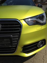 11894446 874801739240337 7967605355197824980 o 190x253 Crazy Farbkombi   Audi A1 in Yellow Flash & Candy Pink