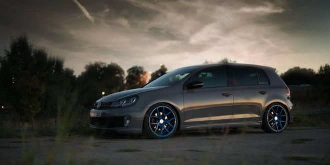 vw golf auf 19 zoll zp nine z performance wheels. Black Bedroom Furniture Sets. Home Design Ideas