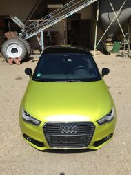 11894615 874802155906962 768747588961624568 o 190x253 Crazy Farbkombi   Audi A1 in Yellow Flash & Candy Pink
