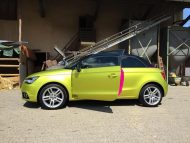 11895086 874802455906932 6471769504039287113 o 190x143 Crazy Farbkombi   Audi A1 in Yellow Flash & Candy Pink