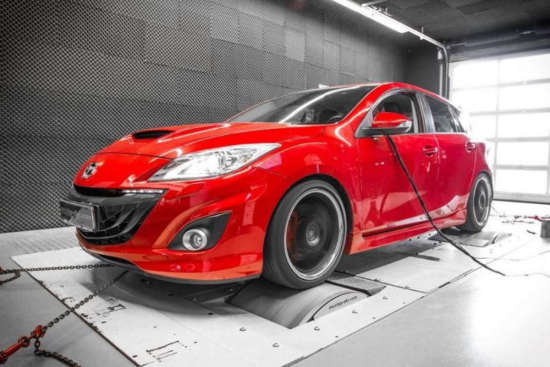 11895300 10153443829116236 6430328440615881874 o Mazda 3 MPS 2.3 Turbo mit 312PS by Mcchip