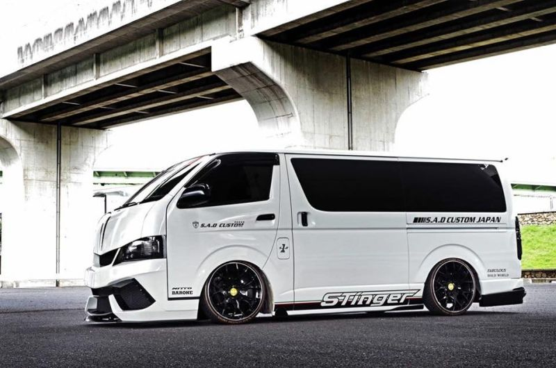 Sad Custom Japan Crazy Toyota Hiace Tuningblog Eu