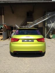 11930948 874802625906915 4614847608165100869 o 190x253 Crazy Farbkombi   Audi A1 in Yellow Flash & Candy Pink