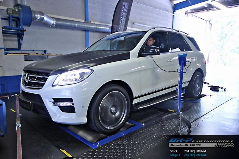 11947832 1012341168797306 4274462938846364637 o BR Performance   258PS Mercedes ML 250 CDi