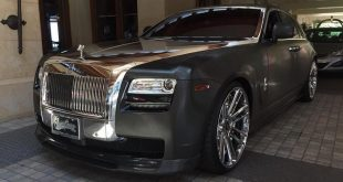 11949479 890285464342150 5277601845935085749 n 310x165 Rolls Royce Ghost   Folierung by West Coast Customs