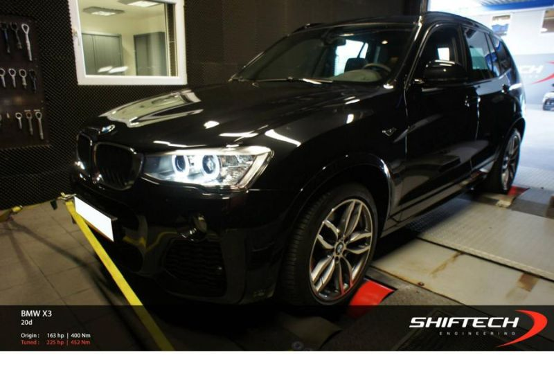 11952719 10154148866944128 2759317582046742995 o BMW X3 20d mit 225PS by Shiftech Engineering