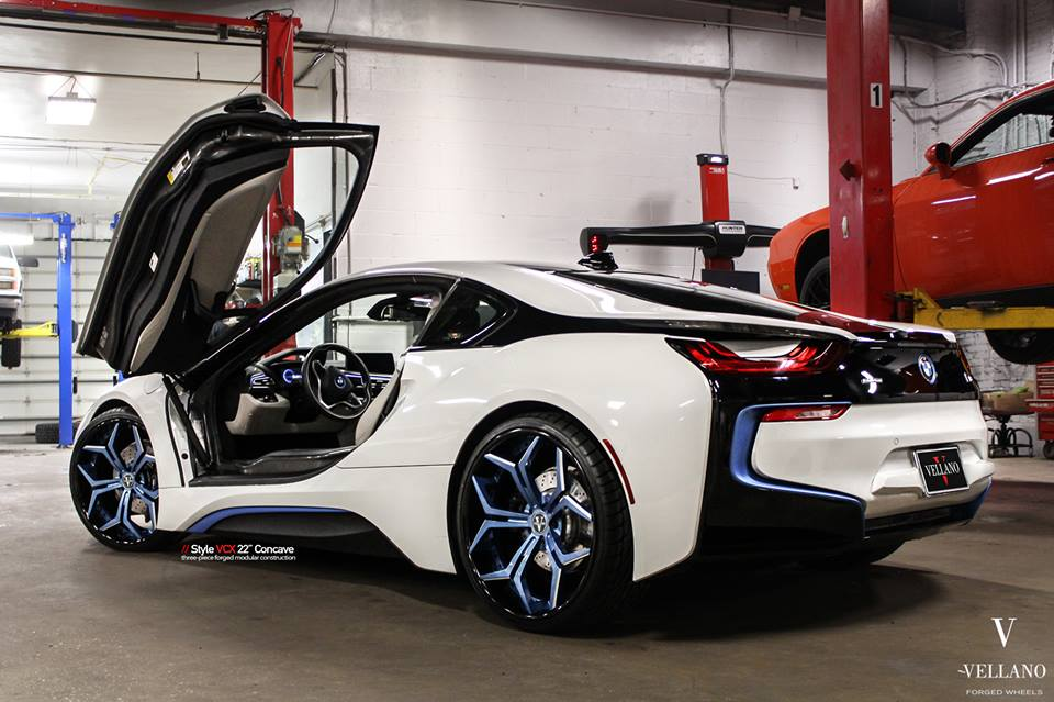 22 Inch Vellano Vcx Forged Wheels Bmw I8 Tuning 5 Tuningblog Eu