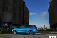 A Clean IND Long Beach Blue Metallic BMW X5 M Project 10 190x127 iND Distribution Tuning BMW F85 X5M mit 22 Zoll Vellano´s