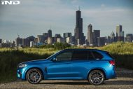 A Clean IND Long Beach Blue Metallic BMW X5 M Project 2 190x127 iND Distribution Tuning BMW F85 X5M mit 22 Zoll Vellano´s