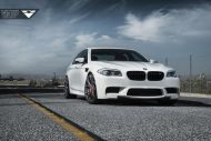 Alpine White BMW F10 M5 With Vorsteiner Flow Forged V FF 103 Wheels 1 190x127 21 Zoll Vorsteiner V FF 103 Alu´s am BMW M5 F10
