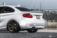 Alpine White BMW F22 2 Series Coupe On V706 Titan Bronze Wheels 5 190x127 Kompakter Sportler   BMW F22 M235i auf VMR Wheels