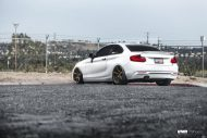 Alpine White BMW F22 2 Series Coupe On V706 Titan Bronze Wheels 6 190x127 Kompakter Sportler   BMW F22 M235i auf VMR Wheels
