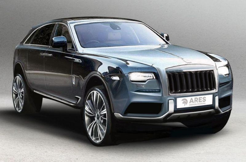 Ares Design Rolls Royce Cullinan 1 (Rendering) Ares Performance Tuning Rolls Royce Cullinan