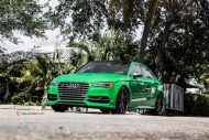 Audi S3 On Vossen VFS1 By Naples Speed 3 190x127 20 Zoll Vossen Wheels VFS1 (VFS 1) am Audi A3 S3
