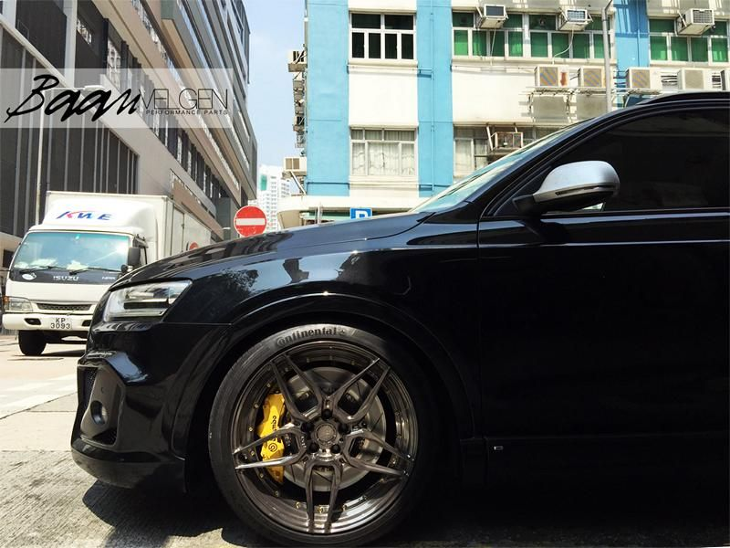Project Audi Q3 By Baan Velgen Kw Adv1 And Brembo