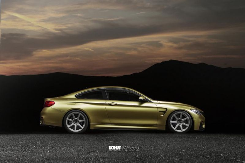 Austin-Yellow-BMW-F82-M4-With-V706-Matte-Gunmetal-Wheels-5