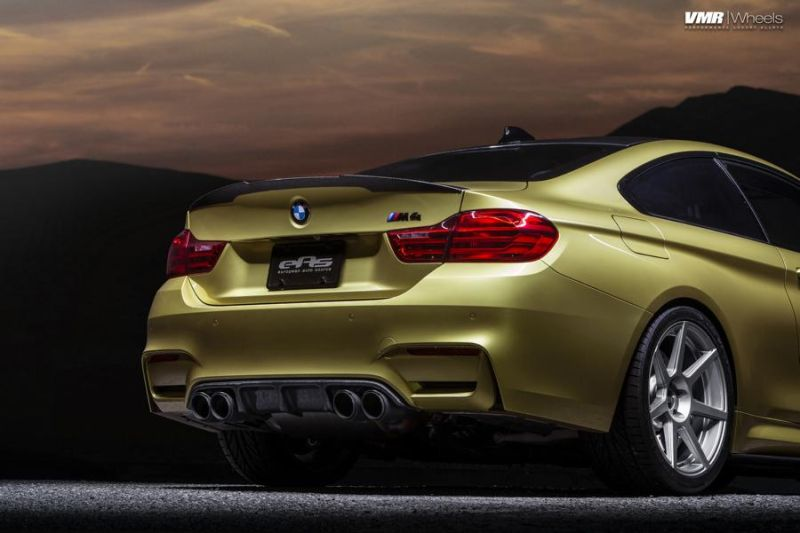 Austin-Yellow-BMW-F82-M4-With-V706-Matte-Gunmetal-Wheels-6