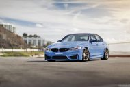 BMW M3 with HRE P44SC Wheels 1 190x127 19 Zoll HRE Wheels P44SC am BMW M3 F80
