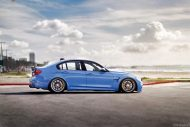 BMW M3 with HRE P44SC Wheels 3 190x127 19 Zoll HRE Wheels P44SC am BMW M3 F80