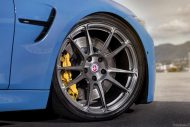 BMW M3 with HRE P44SC Wheels 6 190x127 19 Zoll HRE Wheels P44SC am BMW M3 F80